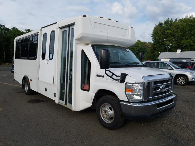 Salvage cars for sale from Copart East Granby, CT: 2014 Ford Econoline