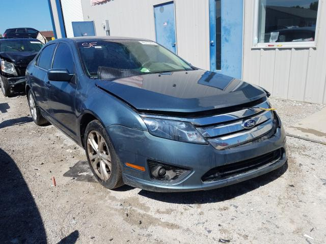 Salvage cars for sale from Copart Louisville, KY: 2012 Ford Fusion SE