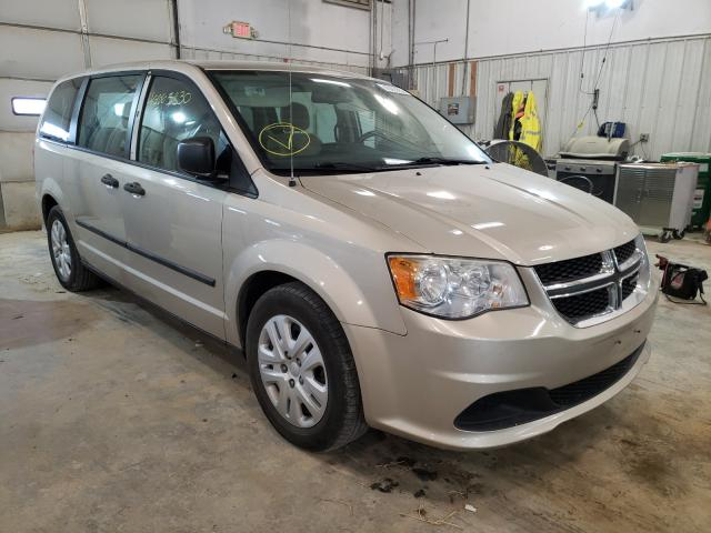 Salvage cars for sale from Copart Columbia, MO: 2014 Dodge Grand Caravan