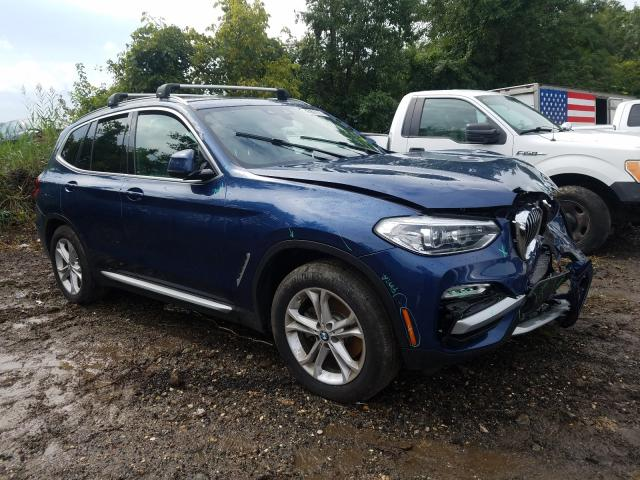 Salvage cars for sale from Copart Baltimore, MD: 2019 BMW X3 XDRIVE3