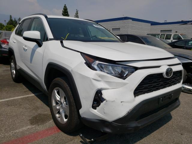 Toyota Rav4 XLE salvage cars for sale: 2020 Toyota Rav4 XLE