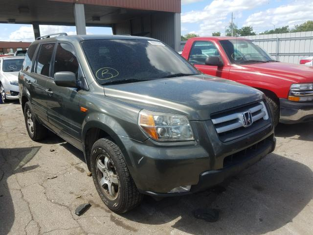 Salvage cars for sale from Copart Fort Wayne, IN: 2006 Honda Pilot EX