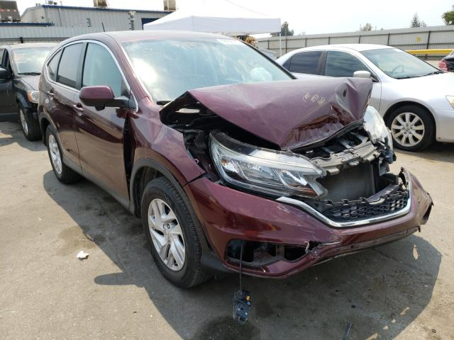 Salvage cars for sale from Copart Bakersfield, CA: 2016 Honda CR-V EX