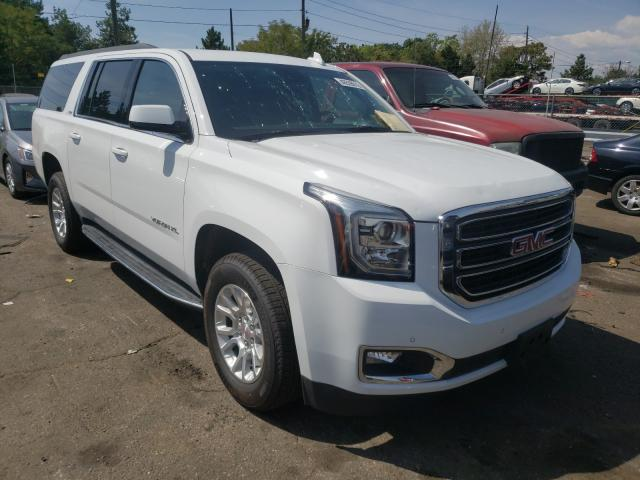 Salvage cars for sale from Copart Denver, CO: 2020 GMC Yukon XL K