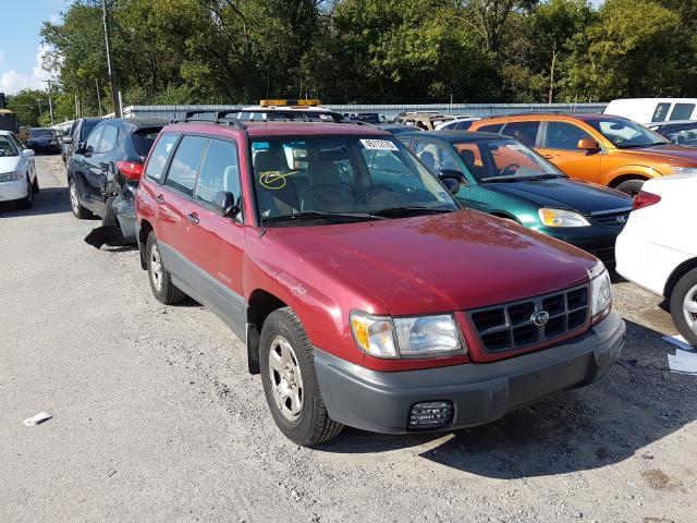Salvage cars for sale from Copart Glassboro, NJ: 1999 Subaru Forester L