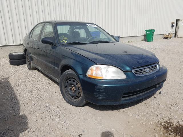 Salvage cars for sale from Copart Rocky View County, AB: 1996 Honda Civic LX