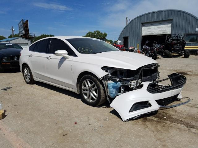 Salvage cars for sale from Copart Wichita, KS: 2016 Ford Fusion SE