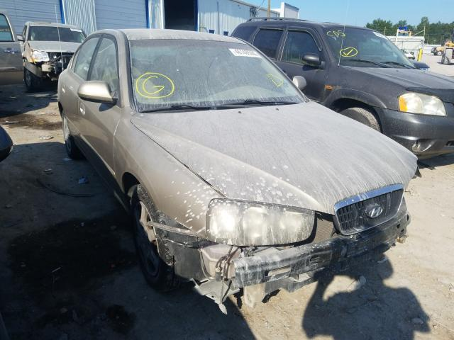 Hyundai salvage cars for sale: 2003 Hyundai Elantra GL