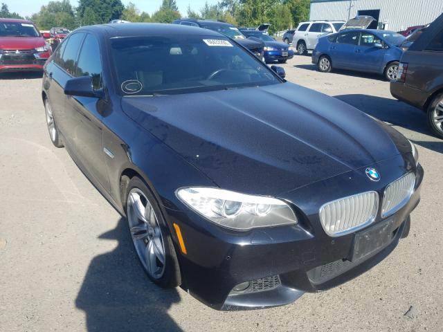 BMW salvage cars for sale: 2013 BMW 550 I