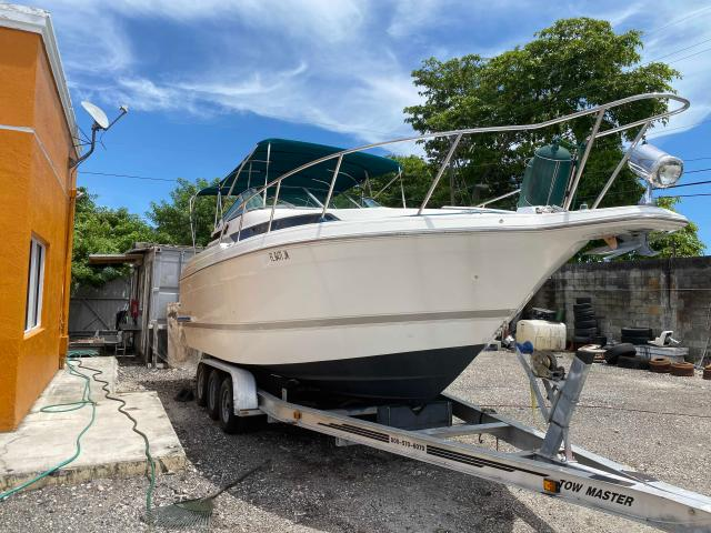 Wells Cargo salvage cars for sale: 1995 Wells Cargo Boat With Trailer