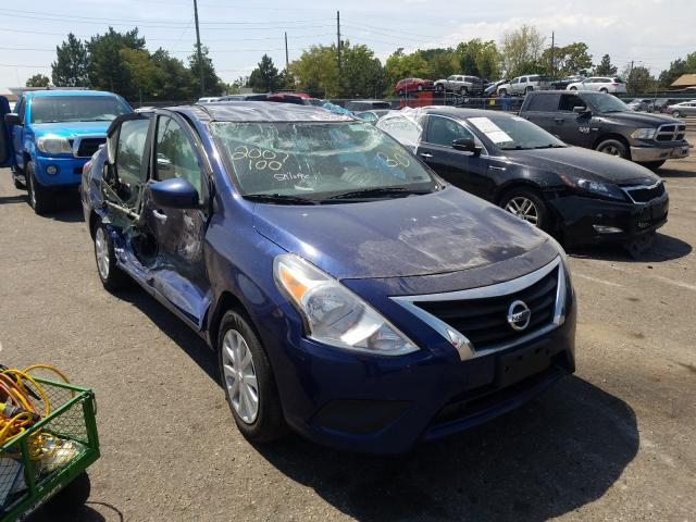 Salvage cars for sale from Copart Denver, CO: 2019 Nissan Versa S