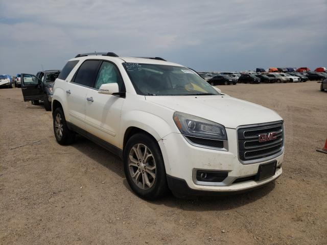 Salvage cars for sale from Copart Amarillo, TX: 2014 GMC Acadia SLT