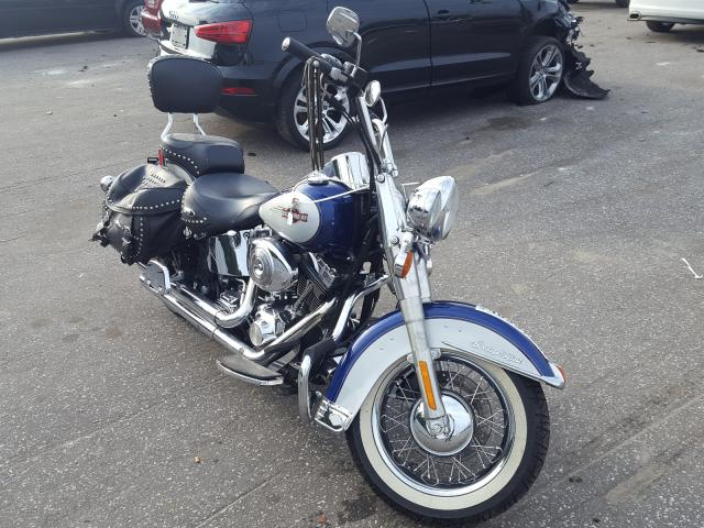 Salvage cars for sale from Copart Dunn, NC: 2006 Harley-Davidson Flstci