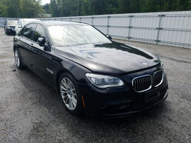 Salvage cars for sale from Copart Fredericksburg, VA: 2013 BMW 750 LI