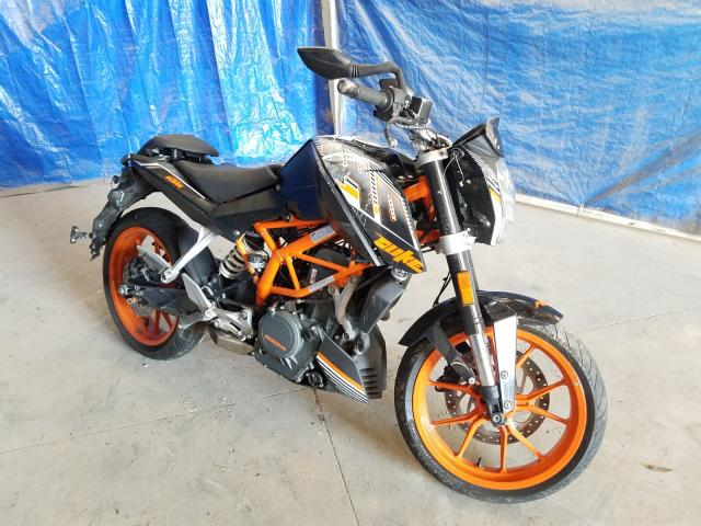 KTM salvage cars for sale: 2016 KTM RC 390