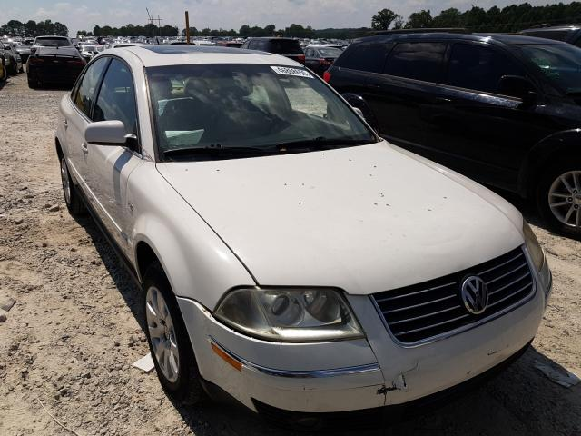 Salvage cars for sale from Copart Loganville, GA: 2003 Volkswagen Passat GLS