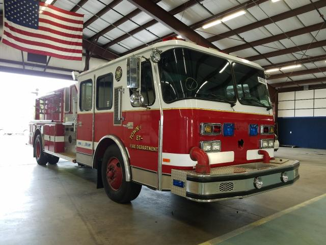 Salvage cars for sale from Copart East Granby, CT: 1994 Emergency One Firetruck