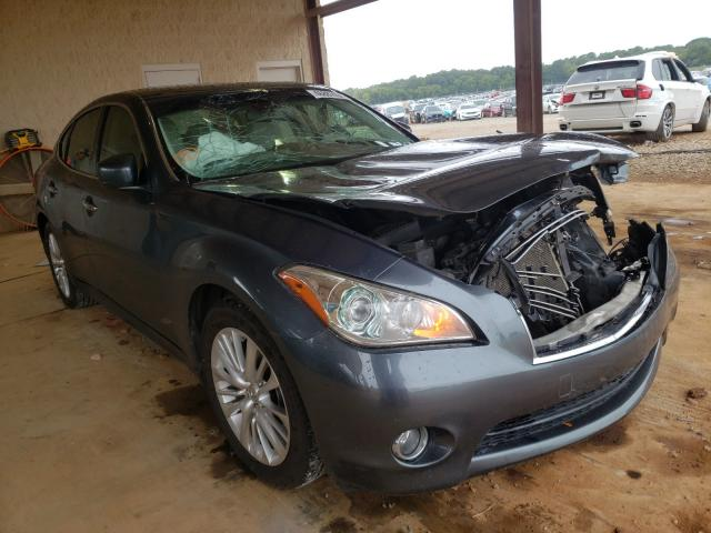 Salvage cars for sale from Copart Tanner, AL: 2011 Infiniti M37