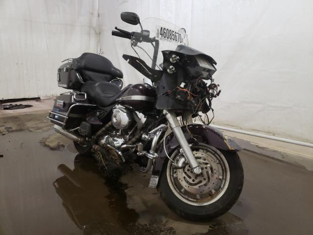 Salvage cars for sale from Copart Central Square, NY: 2005 Harley-Davidson Fltri