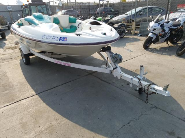 Seadoo salvage cars for sale: 1996 Seadoo Boat