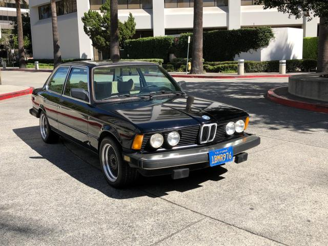 Salvage cars for sale from Copart Wilmington, CA: 1980 BMW 320 I