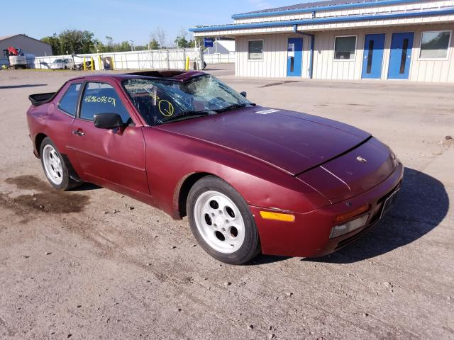 Salvage cars for sale from Copart Central Square, NY: 1986 Porsche 944