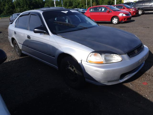 Honda Civic LX salvage cars for sale: 1996 Honda Civic LX