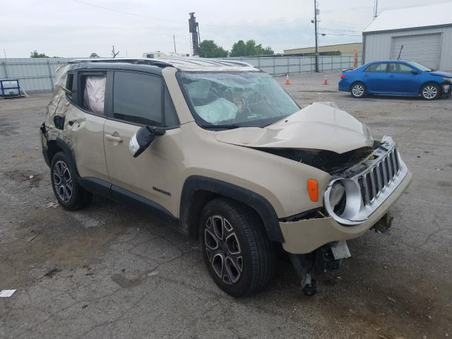 Salvage cars for sale from Copart Lexington, KY: 2015 Jeep Renegade L