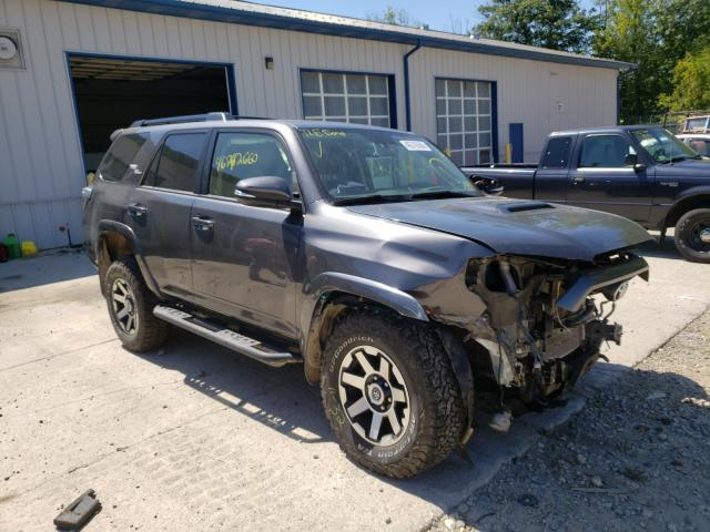Salvage cars for sale from Copart Candia, NH: 2019 Toyota 4runner SR