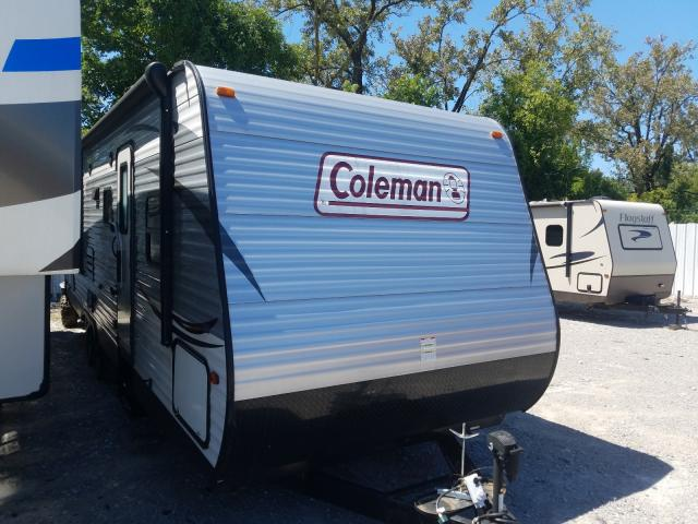 Coleman Camper salvage cars for sale: 2016 Coleman Camper