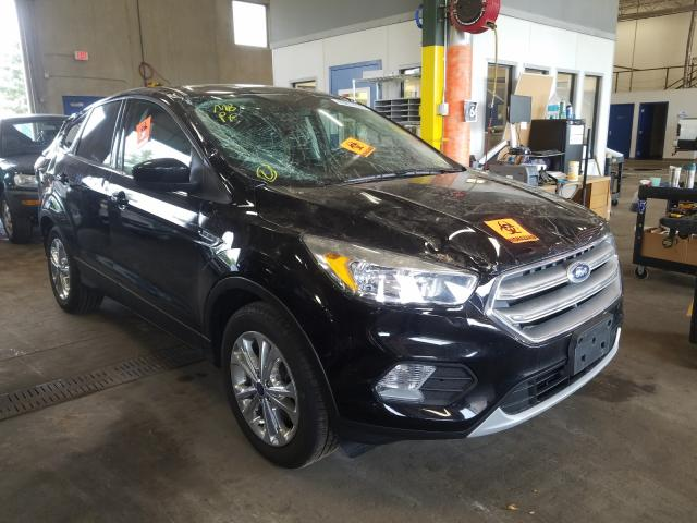 Salvage cars for sale from Copart Blaine, MN: 2017 Ford Escape SE