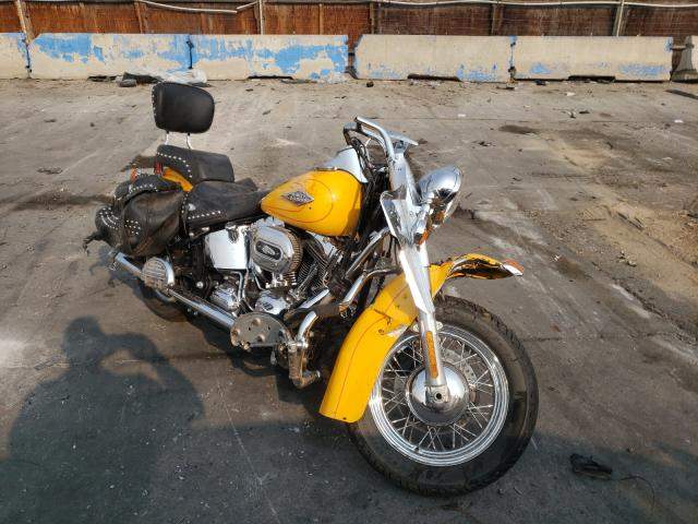 Salvage cars for sale from Copart Littleton, CO: 2011 Harley-Davidson Flstc
