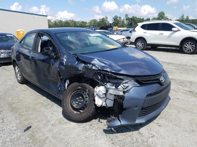 Salvage 2016 TOYOTA COROLLA - Small image. Lot 46334380