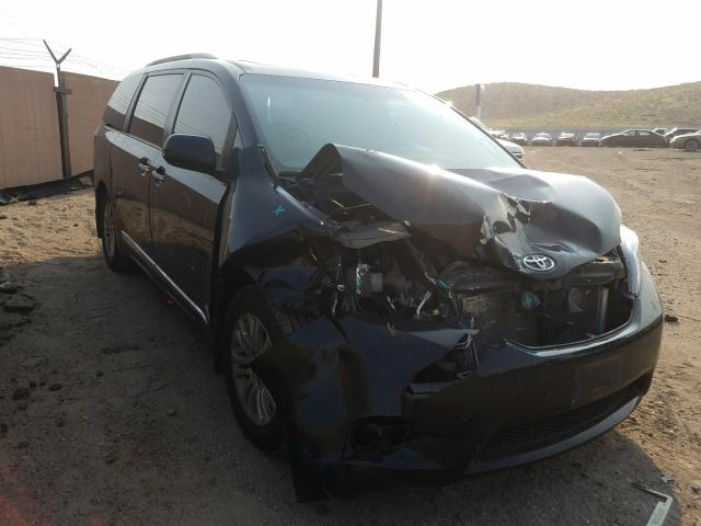 Salvage cars for sale from Copart Albuquerque, NM: 2017 Toyota Sienna XLE