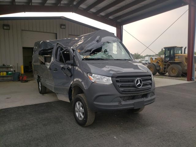 Salvage cars for sale from Copart Billings, MT: 2019 Mercedes-Benz Sprinter 2