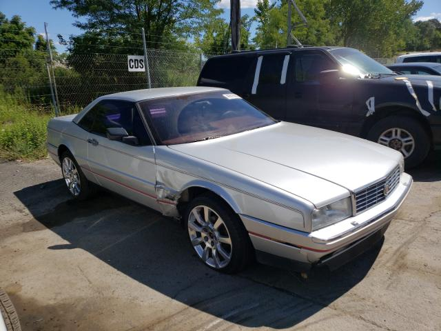 Cadillac Allante salvage cars for sale: 1987 Cadillac Allante