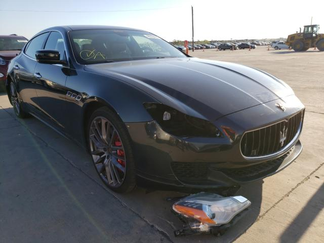 Maserati salvage cars for sale: 2015 Maserati Quattropor