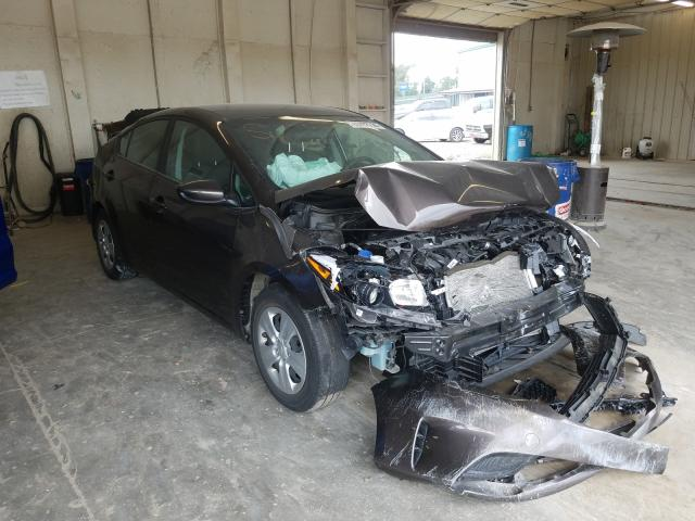 Salvage cars for sale from Copart Madisonville, TN: 2017 KIA Forte