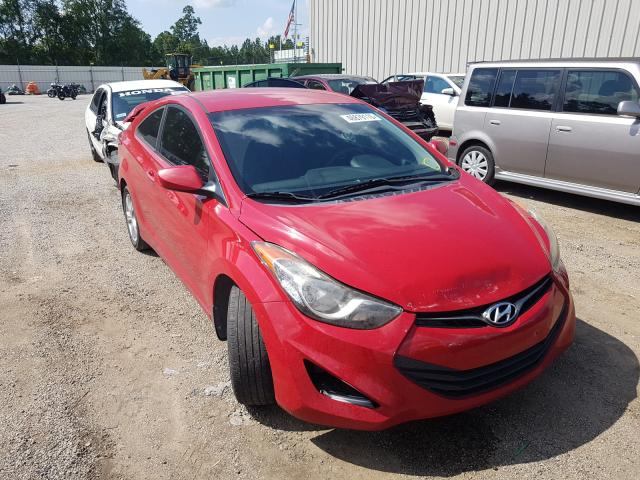 Salvage cars for sale from Copart Harleyville, SC: 2013 Hyundai Elantra CO