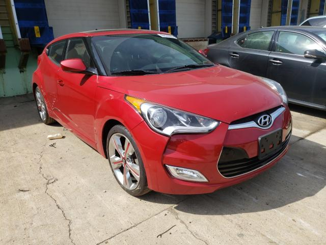 Salvage cars for sale from Copart Columbus, OH: 2016 Hyundai Veloster