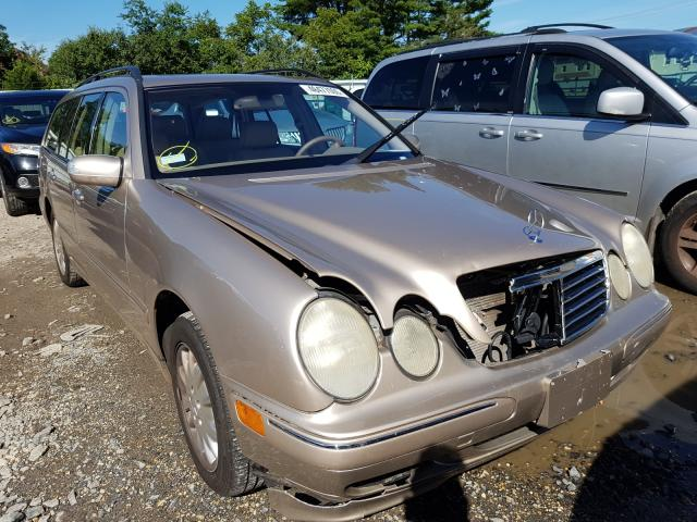 Mercedes-Benz E 320 4matic salvage cars for sale: 2003 Mercedes-Benz E 320 4matic
