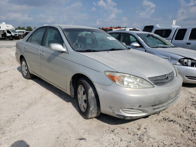 Salvage cars for sale at Houston, TX auction: 2003 Toyota Camry LE