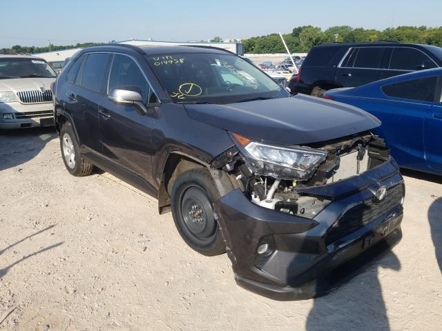 Salvage cars for sale from Copart Oklahoma City, OK: 2019 Toyota Rav4 XLE