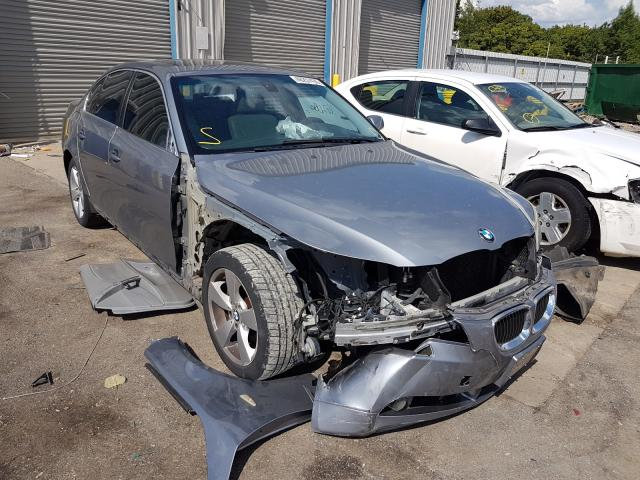Salvage cars for sale from Copart Memphis, TN: 2007 BMW 525 XI
