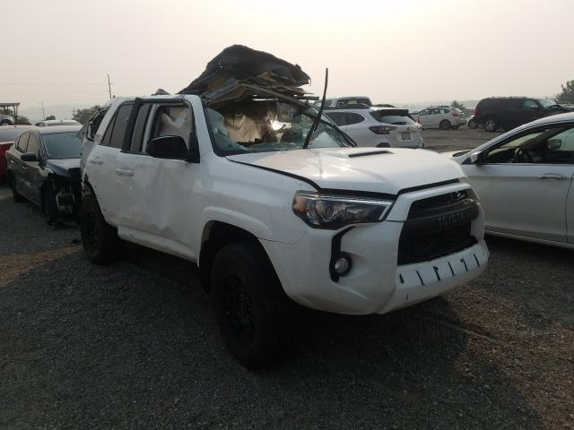 Salvage cars for sale from Copart Reno, NV: 2017 Toyota 4runner SR