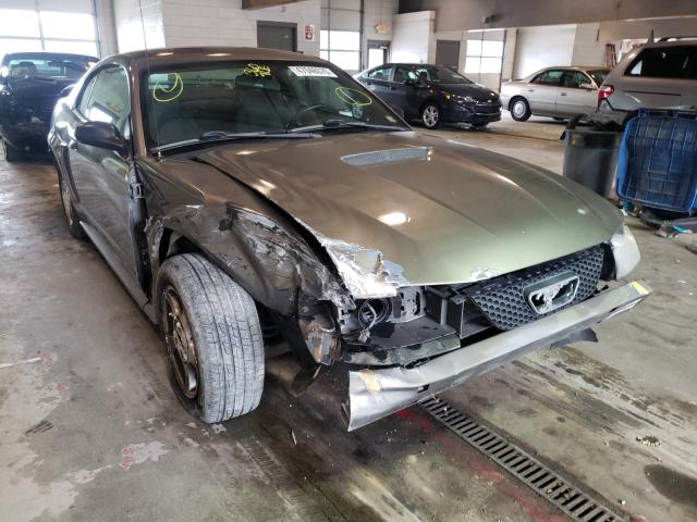 Salvage cars for sale from Copart Sandston, VA: 2002 Ford Mustang