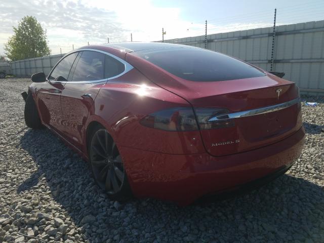 2016 Tesla MODEL S | Vin: 5YJSA1E29GF154398