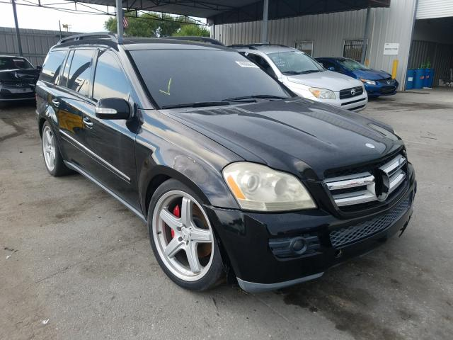 Salvage cars for sale from Copart Orlando, FL: 2007 Mercedes-Benz GL 450 4matic
