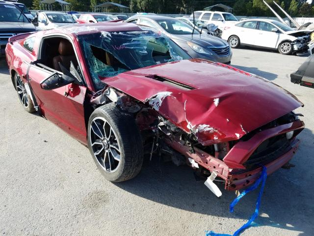Salvage cars for sale from Copart Savannah, GA: 2014 Ford Mustang GT