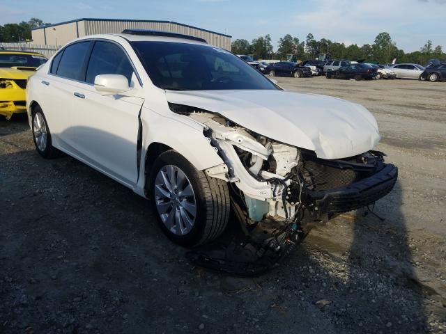 Salvage cars for sale from Copart Spartanburg, SC: 2015 Honda Accord EXL